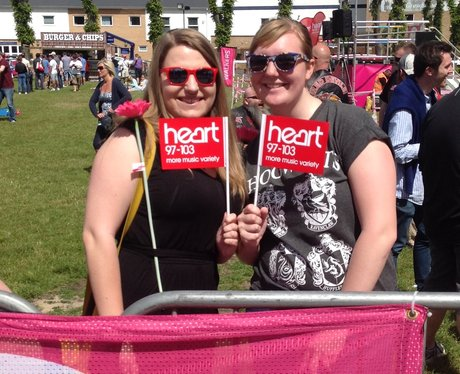 Windsor Race for Life: Start Line