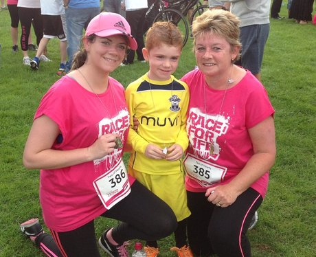Basingstoke Race For Life: Finish Line
