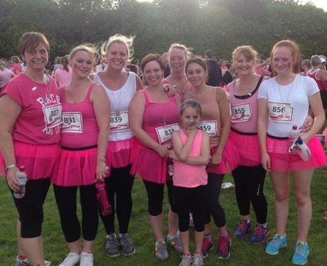 Basingstoke Race For Life: Finish Line