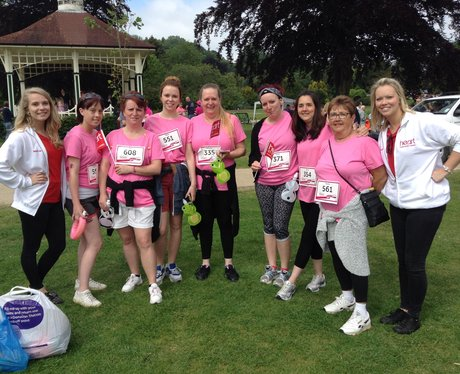 Hastings Race For Life 14th June 2015