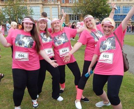 Heart Angels: Folkestone Race For Life - Pre-Race
