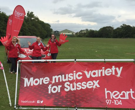 Eastbourne Race For Life 21st June 2015 Pre-Race