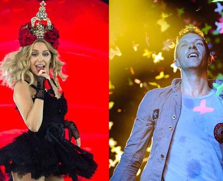 Kylie and Chris Martin split canvas