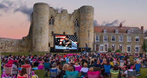 the ultimate open air cinema experience with screenings in some of kents most incredible venues