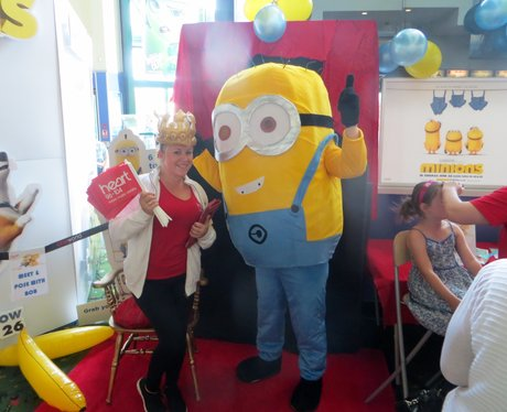 Minions Movie Release Stevenage 2015