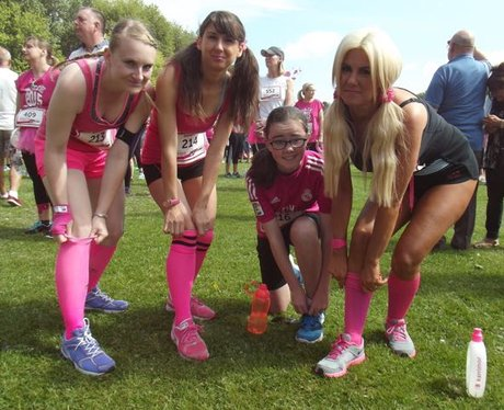 Race For Life Cwmbran 2015: Part 1