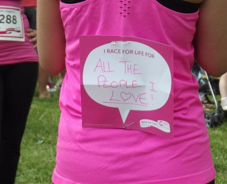 Race For Life Cwmbran 2015: The Messages