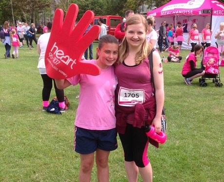 Worthing Race For Life 2015