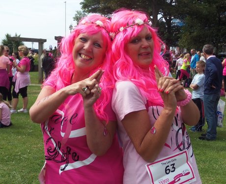 Worthing Race For Life: Pre-Race