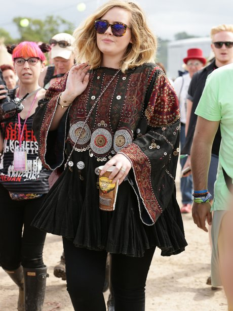 Adele at Glastonbury 2015