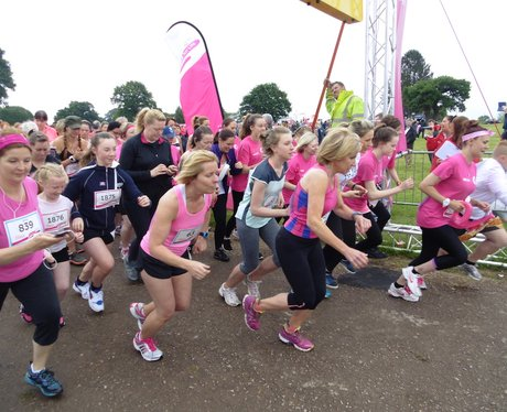 Kenilworth Race For Life - Before!