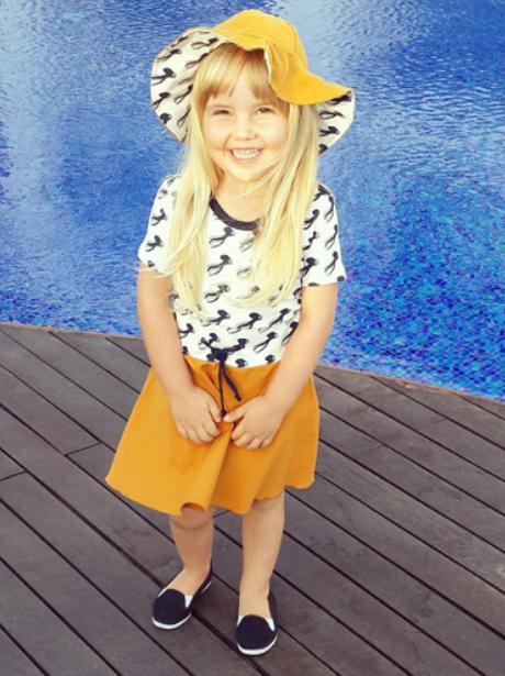 Fashionable Instagram kids