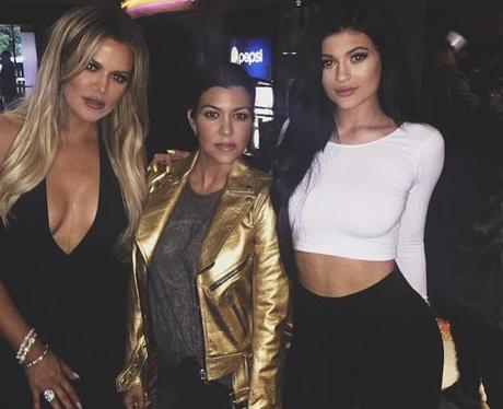 Khloe, Khourtney and Kylie Kardashian