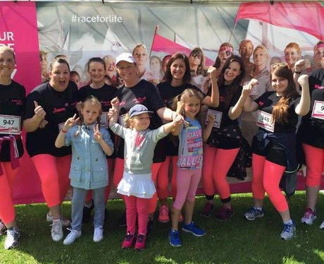 Race for Life Fife pics