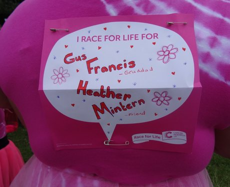 Race For Life Basildon - Why You Do It.