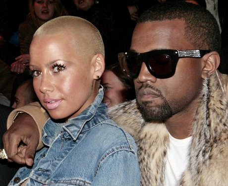 Amber Rose and Kanye West