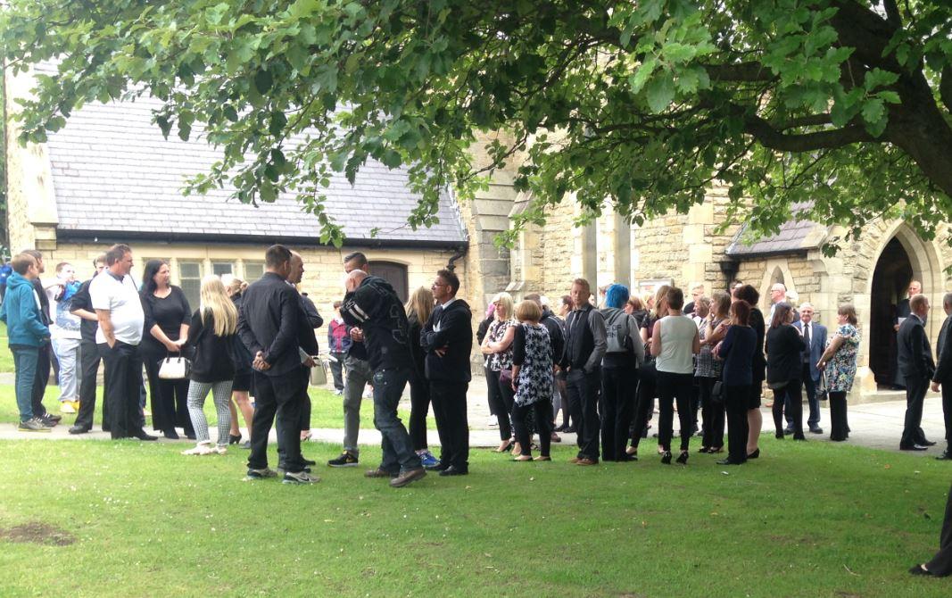 Cameron Gosling funeral 1