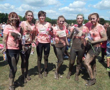 Heart Angels: Maidstone Pretty Muddy - Finish line
