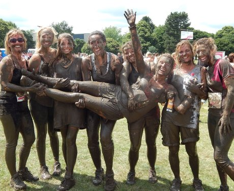 Heart Angels: Maidstone Pretty Muddy - Finish line