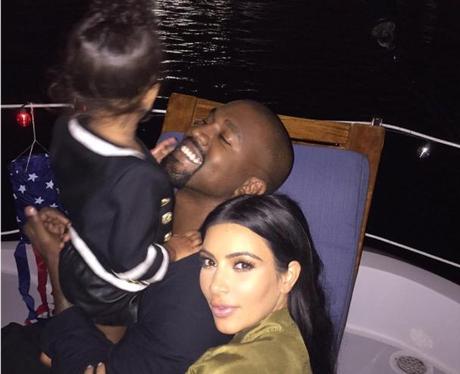 Kim Kardashian and family Instagram