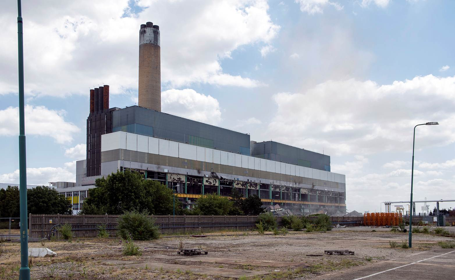 Demolition of Kingsnorth power station