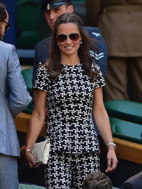 Pippa Middleton Wimbledon Day Ten