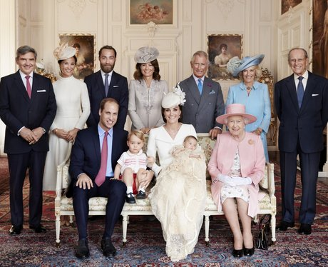 Princess Charlotte's Royal Christening by Mario Te