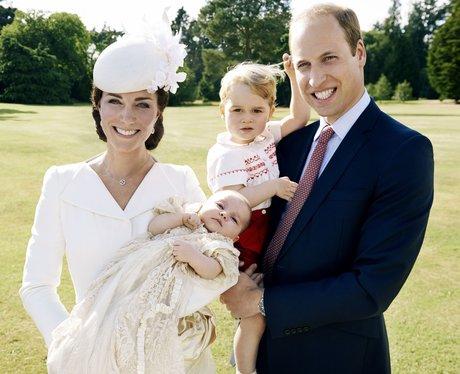 Princess Charlotte's Royal Christening by Mario Te