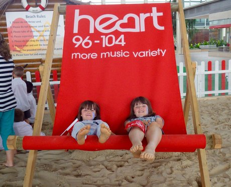 Summer Beach at the centre:mk 2015