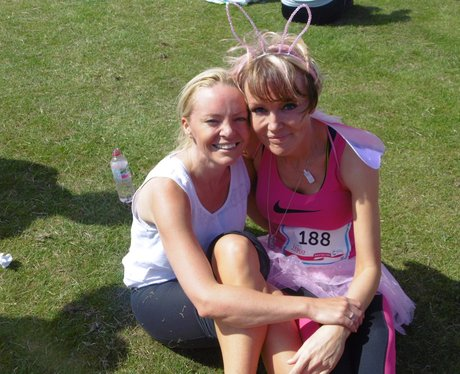 Longbridge 10K Race For Life - Finish!