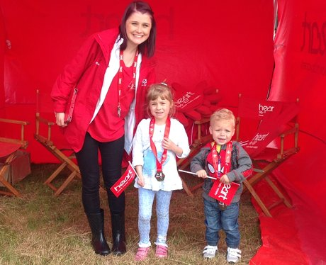 Little Heart fans at the Heart tent