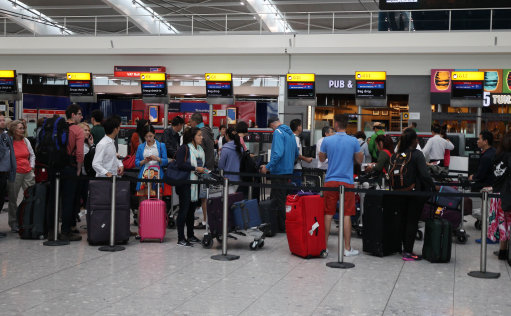 Delays At Heathrow After Runway Protest