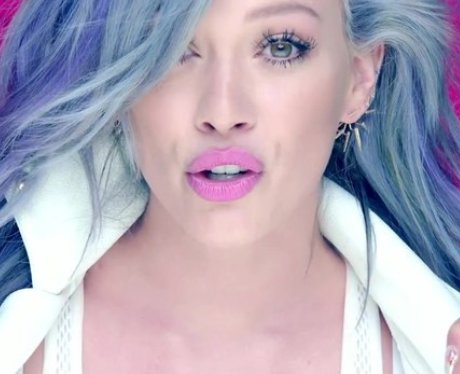 Hilary Duff in a video from her sparks video.