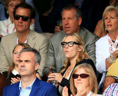 Kate Winslet at Wimbledon