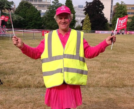 Oxford Race For Life: Before The Race