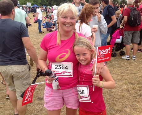 Oxford Race For Life: Finishers