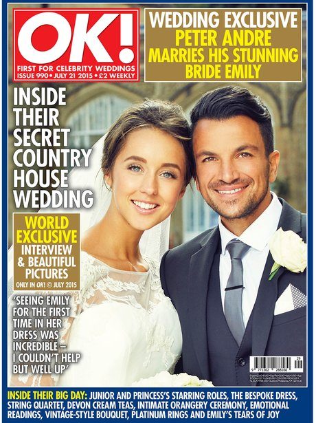 Peter Andre and Emily MacDonagh wedding
