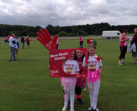 Race For Life Haydock 2015