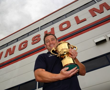 Rugby World Cup Trophy Tour 2015 Gloucester