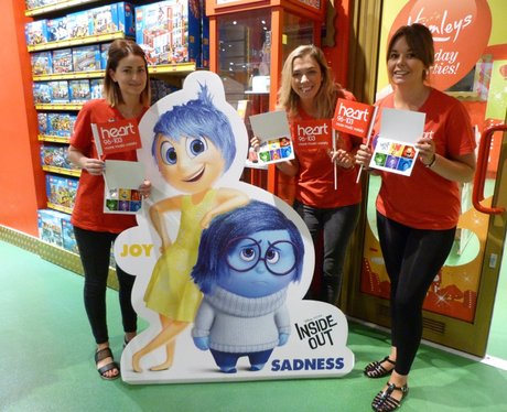 Hamleys intu Lakeside - Disney Pixar's Inside Out‎