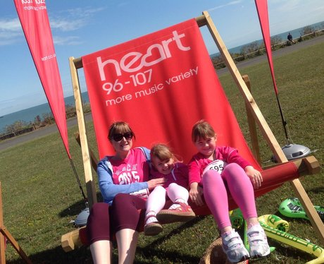 Heart Angels: Margate Race For Life - Giant Deckch