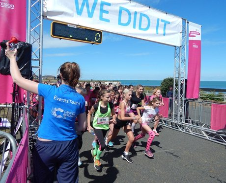 Heart Angels: Margate Race For Life (19th July 201
