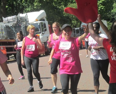 Race For Life. Hyde Park