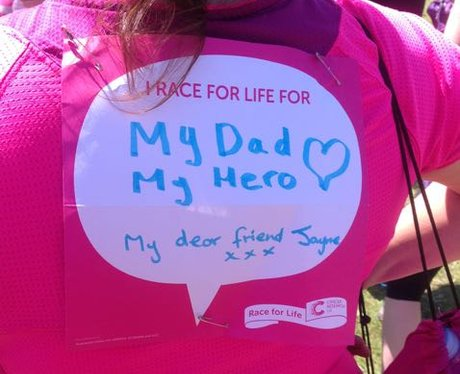 Race For Life Weekend Cardiff 2015: The Messages