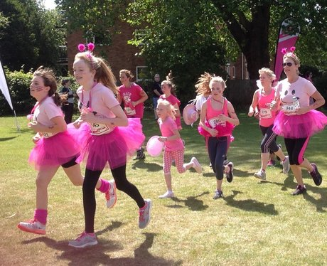 Reading 5k Race For Life: Finishers