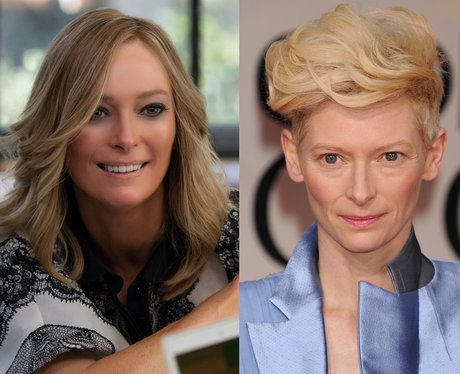 Tilda Swinton in her movie role