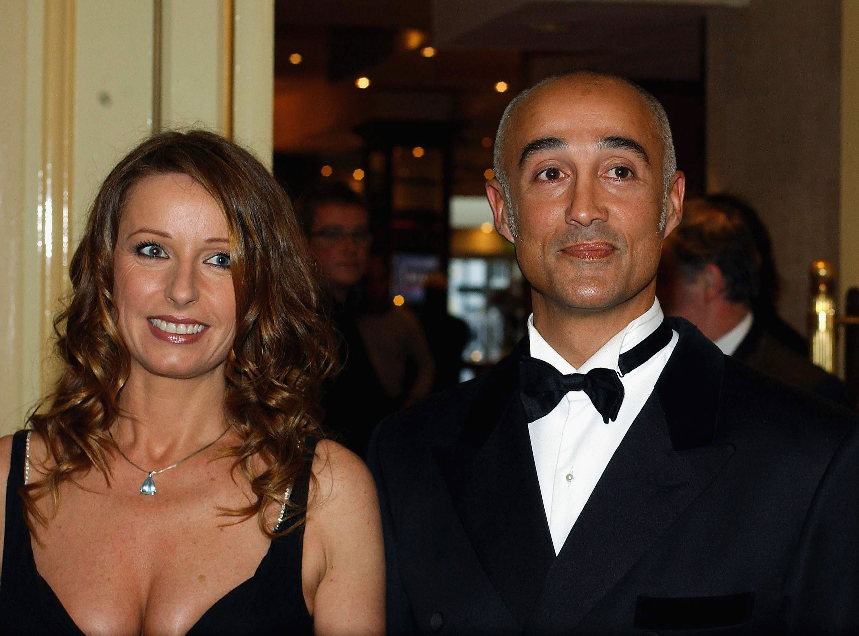 Andrew Ridgeley and Keren Woodward