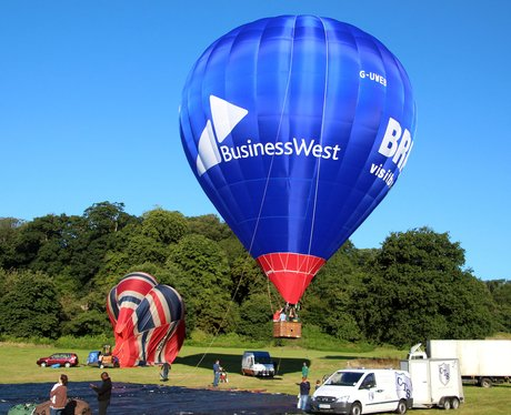 Bristol International Balloon Fiesta 2015 Press La