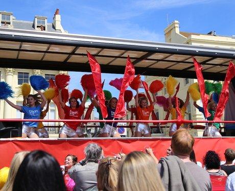 Heart at Brighton Pride