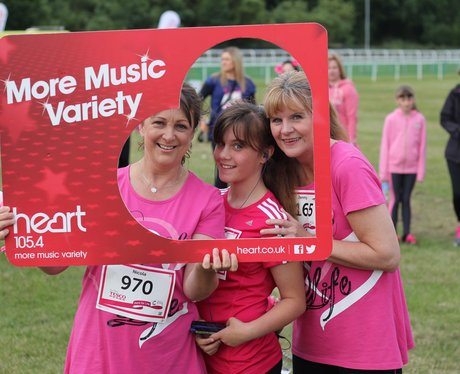 Race For Life Chester Race Course 2015